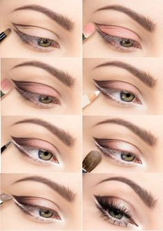 Soft Colors For Bigger Looking Eyes | Makeup Mania