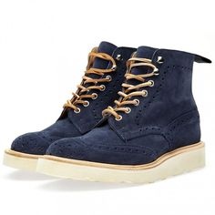 Tricker's x END. Vibram Stow Boot City Pack