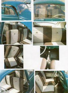 Bussone s.r.l.s: Selleria auto Rivestimento interni Maggiolino I° serie