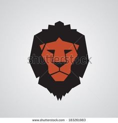 lion face drawing geometric - Google Search