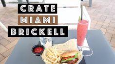 New Miami Vegetarian / Vegan Restaurant CRATE in Brickell Miami