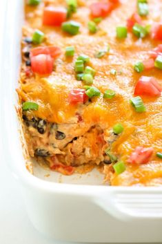 Chicken Taco Casserole – Collector of Recipes