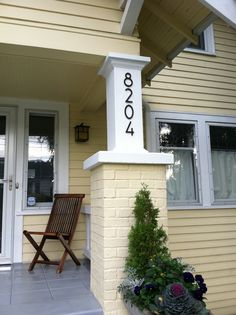 1000 images about bungalow joy on pinterest bungalows for Bungalow house numbers