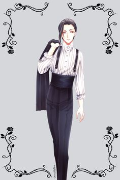 This is one of the outfits from chapter 116 <3 <3 <3
