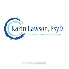 Logo Design for Karin Lawson by Camille Chung
