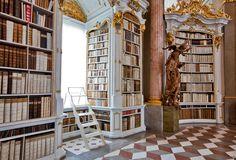 Library Monastery Admont, Admont, Austria