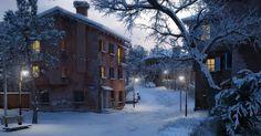 Making of Winter Scene - Evermotion.org