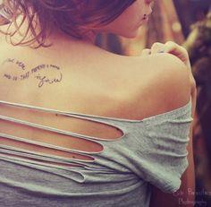 Infinite world's tattoos
