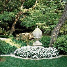 Ornamenting a garden