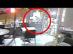 Camara De Seguridad Capta Momentos Del ataque En Paris - Atentados Terro...