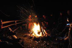 Prieteni+o chitara+un foc de tabara= o seara de neuitat