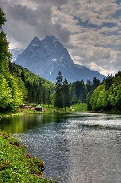 Riessersee / Alpspitz