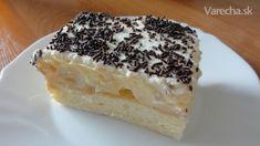 Svokrine rezy Florida - Recept 20 Min, Cake Recipes, Cheesecake, Food And Drink, Florida, Anna, Treats, Facebook, Sweet