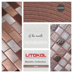 Color November -Litokol Starlike Metalic Rusty