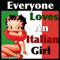 Italian Betty Boop