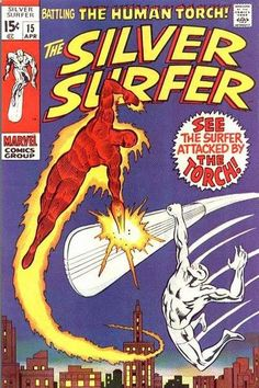 Silver Surfer # 15 by Marie Severin & Joe Sinnott
