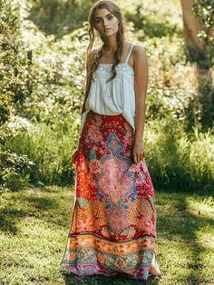 Giacca Boho Bohemien Londinese Abito Gypsy Festival Hippy Kimono Ginocchia Lunghezza