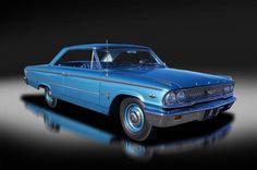 1963 Ford Galaxie XL 500. R-code.