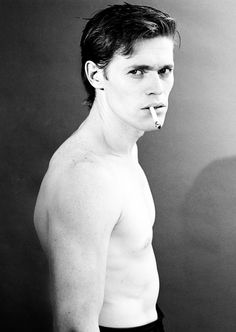 Willem Dafoe photographed by Jeannette Montgomery Barron, 1985