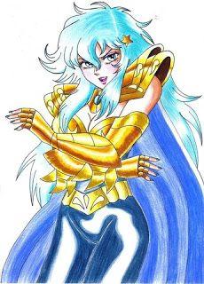 Animes: Otakus e Otomes Afrodite de Peixes: Female version versão feminina antiga  Bianca Chagas