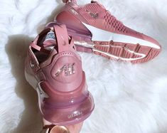 3a66136f9c Swarovski Nike Air Max 270 Rust Pink/Metallic Red Bronze/Sail customized  with Rose Gold SWAROVSKI® Xirius Rose-Cut Crystals.