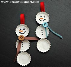 Homemade Christmas Ornaments 2012 Ideas Unique  Easy