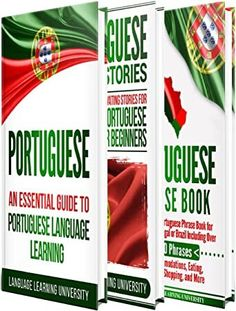 Read Book Portuguese: Learn Portuguese For Beginners Including Portuguese Grammar, Portuguese Short Stories and 1000 Portuguese Phrases, Author Language Learning University Portuguese Phrases, Portuguese Grammar, Portuguese Language, Learn Portuguese, Got Books, I Love Books, Books To Read, Booker T, What To Read