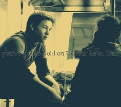 Falling Skies S2 We Shall Gather At The River Tom Mason Ben Mason Noah Wyle Connor Jessup