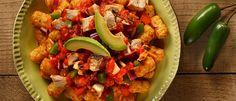 Chicken Enchiladas Totchos