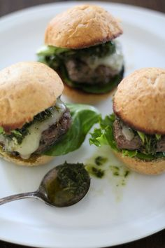 pinning this for the sauce  hard to find in the western stores Chimichuri Beef Sliders