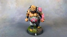 My Blood Bowl Ogres and now converted and painted. I had a blast painting this team and I hope you enjoy the pictures. Blood Bowl Miniatures, Bunny Logo, Game Workshop, My Struggle, In The Flesh, Give It To Me, Fantasy, Painting, Painting Art
