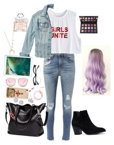 """""""Untitled #46"""" by giuliaabalanuta on Polyvore featuring rag & bone, Hollister Co., Quay, Garrard, Effy Jewelry, Bloomingdale's, Guerlain and Ciaté"""