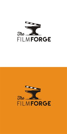 Logo design by zvucifantasticno for the film forge, a video production company. Entertainment Center Redo, Entertainment Logo, Inspiration Drawing, Logo Inspiration, Film Company Logo, Production Company Logo, Film Production Logo, Film Logo, Strip