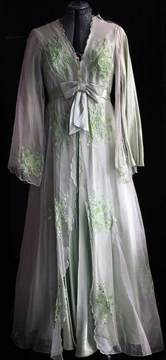 beautiful dressing gown