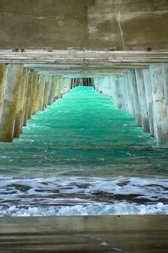 Summer....Under the boardwalk