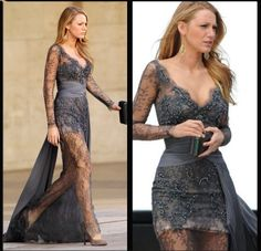 Blake Lively Lace Dress.   I am absolutely in love with this dress. If I ever went to Prom again, I would wear this.