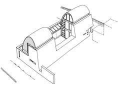 Glove House sketch scheme - Adrian James Architects, Oxford