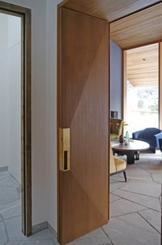 Rhombic Door | Patrick Harnisch Architekten