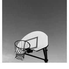 Black and White Basketball #monthofblackandwhite #blackandwhite #basketball #basketballcourt #sports #forestheights #forestparkelementary #school #portland #portlandoregon #upperleftusa
