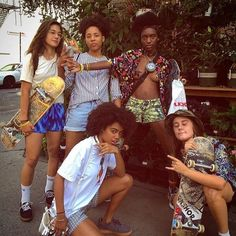 the all-female skate crews you need to follow on instagram | read | i-D
