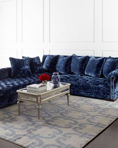 Divine+Left-Chaise+Sectional+Sofa+by+Haute+House+at+Horchow.