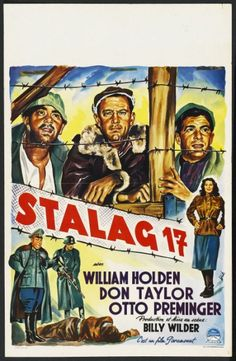 Belgian movie posters | Stalag 17 Belgian Movie Poster