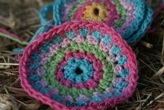 I have been trying my own crochet circle pattern as I didn't like the look of the ones with the seams. And not crazy about the spiral circle...