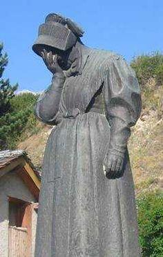 monument aux morts de Termignon en Savoie