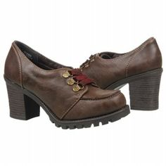 JELLYPOP Durbin Shoes (Dk Brown Smooth) - Women's Shoes - 6.0 M
