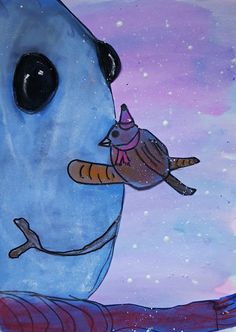 MaryMaking: Birds on Snowmen