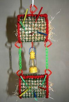 DIY toys for your Sugar Glider