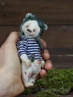 Мишки Тедди ручной работы. Ярмарка Мастеров - ручная работа. Купить мишка тедди Дрю. Handmade. Медведь, авторский мишка
