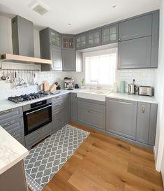 Kitchen Cabinets, House, Home Decor, Kitchen Maid Cabinets, Haus, Interior Design, Home Interiors, Homes, Decoration Home