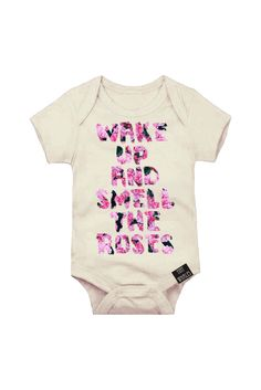 Wake Up Onesie by Tiny Whales